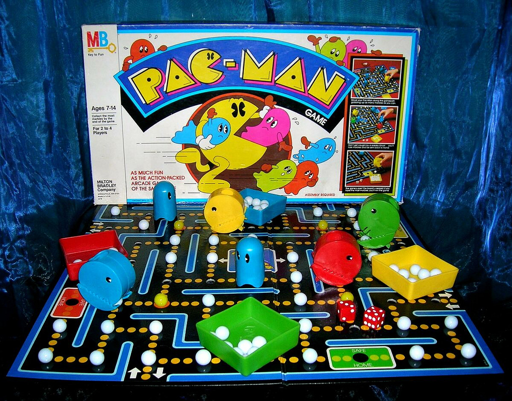Pacman Table Game >> Pac Man Board Game